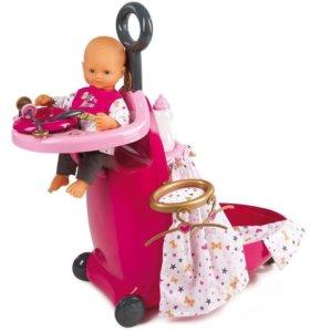 Игровой набор для куклы чемоданчик Smoby новый