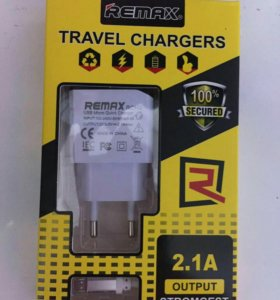 Зарядка 2,1A REMAX micro USB