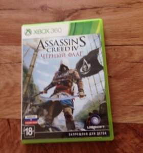 Assassins creed 4 Чёрный флаг Xbox 360