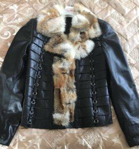 Куртка(Натуральная кожа)женская