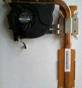 Кулер для ноутбука+радиатор охлаждения