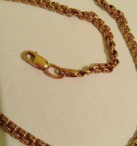 Золотая цепь 11 гр, 52 см.