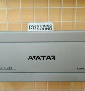 Усилитель 4-канальный Avatar AST-4.250, новый