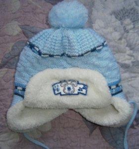 Зимняя шапка на 0,5-1, 5 года
