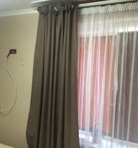 Комплект штор и тюль