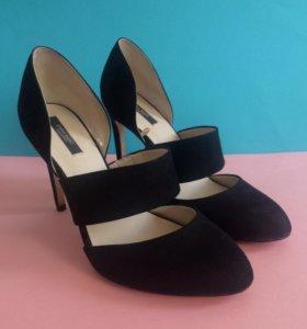 Туфли замшевые 40-41размер
