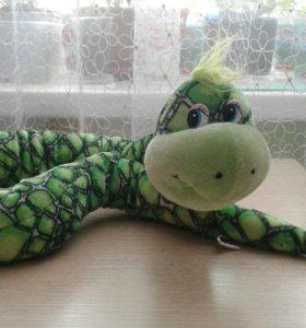 Змея гнущееся мягкая игрушка