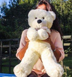 Плюшевый медведь, 80 см