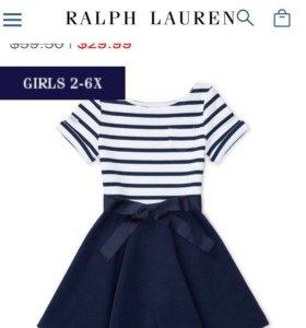 Ralph Lauren платье детское