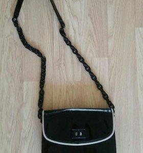 Лаковая сумочка Mango