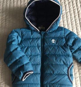 Зимняя на пуху куртка timberland