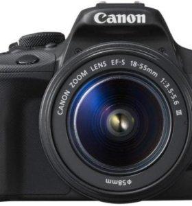 Фотоаппарат Canon EOS 100 D Kit 18-55