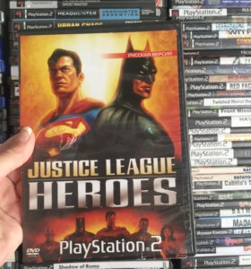 Justice League Heroes на PlayStation 2