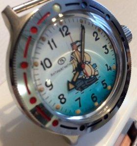 Часы Амфибия СССР, новые.