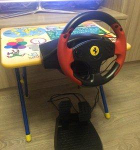 Руль и педали Thrustmaster Ferrari