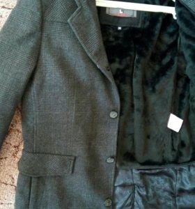 Пальто мужское 52-54размер