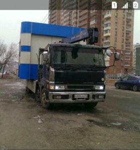 Аренда грузовиков с краном!