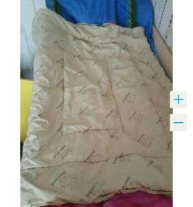 Детское одеяло 110×140 см.