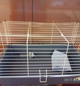 Клетка для кроликов, шиншилл, морских свинок и др.
