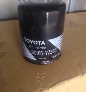 Фильтр масляный Toyota 90915-YZZB6