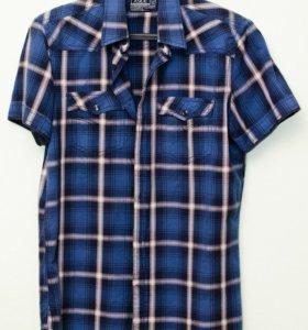 Рубашка LC Waikiki, мужская, хлопок, размер 44-46