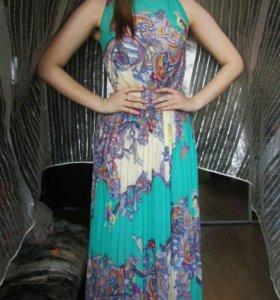 Шифоновое платье ( сарафан)