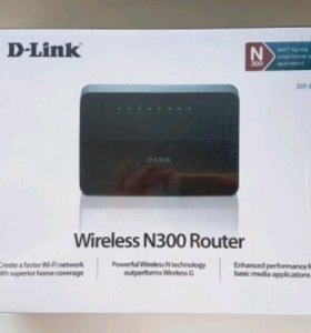 Новый роутер D-Link DIR-615 wireless N300 router