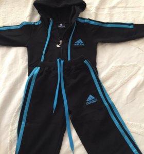 Adidas спортивный детский костюм