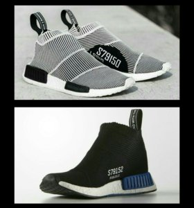 🔥 Высокие Adidas NMD Boost City Sock
