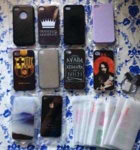 Чехлы на IPhone 4-7