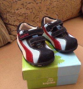 Ботинки детские 19 kapika новые