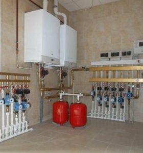 Отопление водобснажения