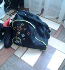 Коньки+сумка