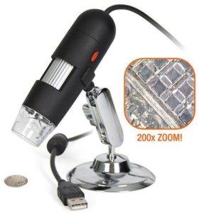 Мини микроскоп