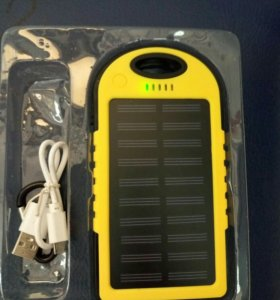 Внешний аккумулятор на солнечных батарейках