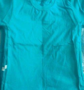 зеленые футболки однотонные