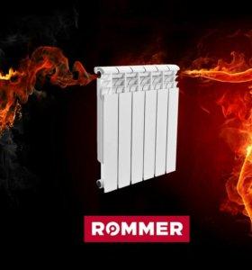 Радиатор бимет ROMMER 500/80