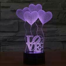 ☡Проекционный 3D светильник (ночник)