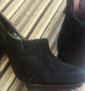 Ботильоны туфли закрытые змаша