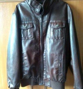 Куртка пресованная мягкая кожа