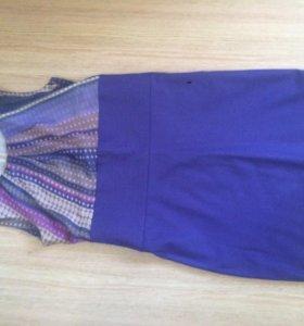 Фиолетовое платье Размер s