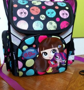 Школьный рюкзак LPS (Little Pets Shops)