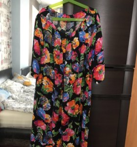 Тонкое платье для беременных и кормящих