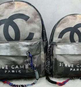 Рюкзак chanel graffiti