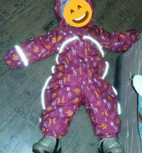 Детский зимний комбинезон Лесси