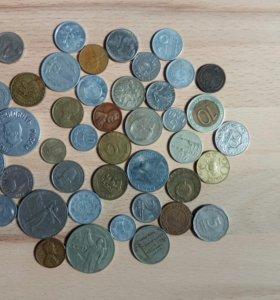 Старинные деньги (монеты русские и иностранные)