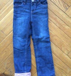 Новые джинсы на флисовой подкладке GAP