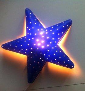 Светильник-ночник Икеа (Звезда)