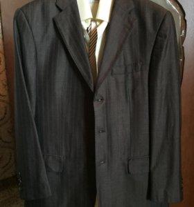 Костюм пиджак брюки мужской итальянский