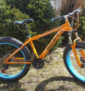 Велосипеды внедорожники фэтбайк fatbike